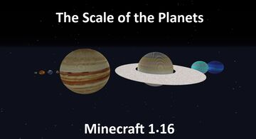 The Scale of the Planets in Minecraft 1.16 Minecraft Map & Project