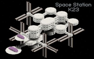 Space Station K23 Minecraft Map & Project