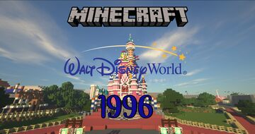 Walt Disney World 1996 Minecraft Map & Project