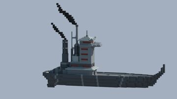 Zuko's Fire Nation Ship from Avatar Minecraft Map & Project