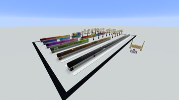 Block Color Gradient || World Samples 2 Minecraft Map & Project