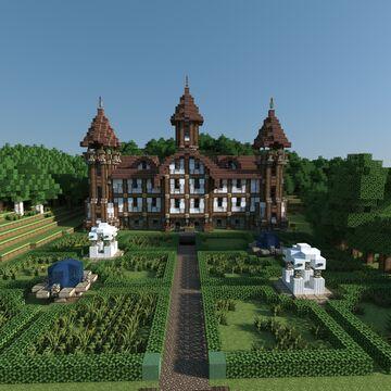 Vorige seizoenen Minecraft Map & Project
