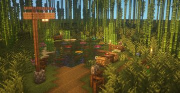 Lotus Garden Minecraft Map & Project