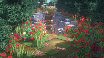 Country Road Minecraft Map & Project