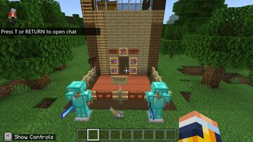 My good survival house!!!:) Minecraft Map & Project