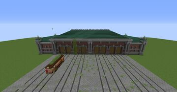 Abandoned Old Tram Depot Minecraft Map & Project