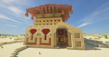 Embassy of the Burning Desert Minecraft Map & Project