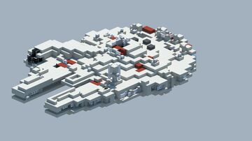Starwars, The Millennium Falcon [With Download] Minecraft Map & Project