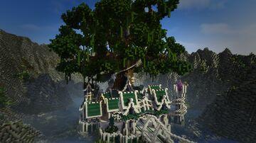 ELVEN VILLAGE / Pueblo élfico Minecraft Map & Project