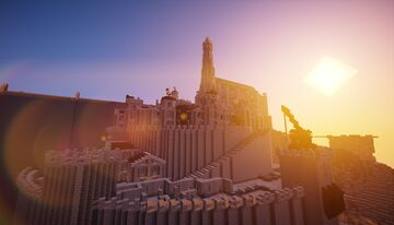 Minas Tirith Minecraft Map & Project