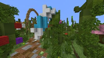Vine-like flower on MagnaRisa Minecraft Map & Project