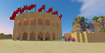 Amphitheater Minecraft Map & Project