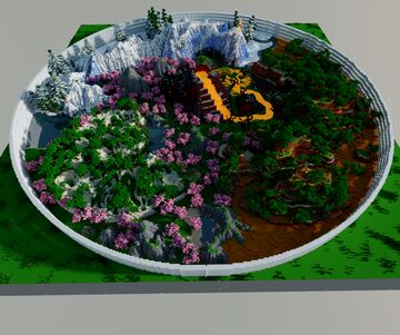 large pvp/hunger games arena (also downloadable for 1.12) Minecraft Map & Project