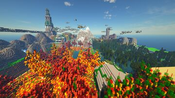 xvillage Minecraft Map & Project