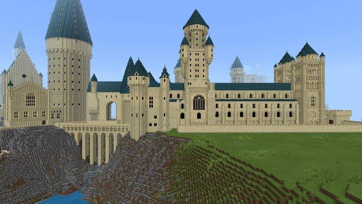 Popular Map : Hogwarts Castle v2