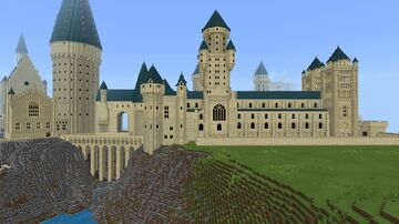 Hogwarts Castle v2 Minecraft Map & Project