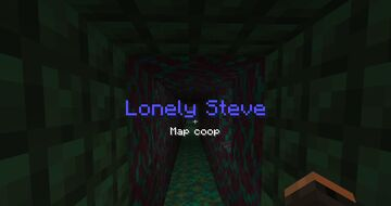 Lonely Steve - coop - PT BR Minecraft Map & Project