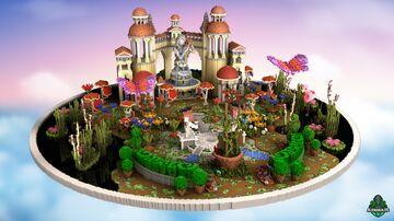 ⭐ EXCLUSIVE ⭐ Garden Lobby - AliensBuilds 🏯 Minecraft Map & Project