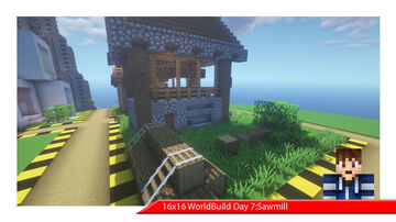 (Project) 16X16 WorldBuild One Day One Build Minecraft Map & Project