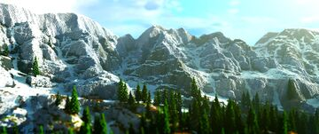 1K Mountain Map [Download] Minecraft Map & Project