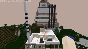 Modern Hanging House Minecraft Map & Project