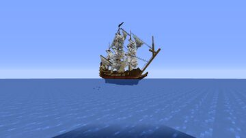 Minecraft ship Minecraft Map & Project