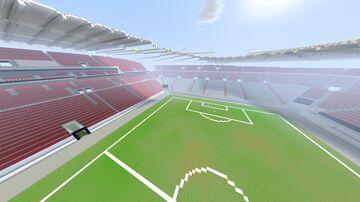 Mercedes-Benz-Arena Stuttgart SCALE 1:1 Minecraft Map & Project