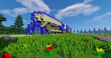 Simple rail-yard Minecraft Map & Project