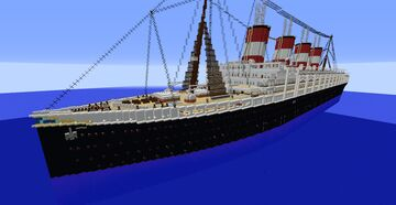 SS Alexander der Elegante (1924-1946) Minecraft Map & Project