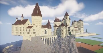 Hogwarts Castle (Year 1 and 2) Minecraft Map & Project