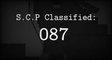 SCP Classified: 087 [DEMO] Minecraft Map & Project