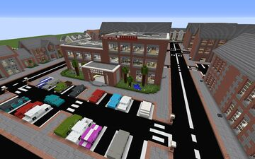[Old] Hospital / Medical Center 2 Minecraft Map & Project