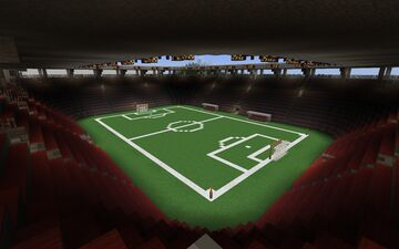 Stadium (Football Stadium) Minecraft Map & Project