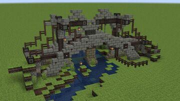Medieval Bridge V3 Minecraft Map & Project
