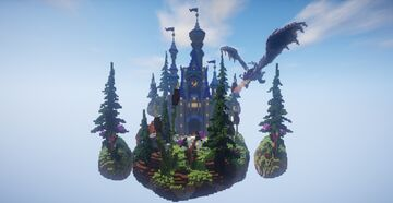 Fantasy castle lobby ► Moddragon Minecraft Map & Project