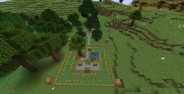 Garden Project (for CaraRose) Minecraft Map & Project