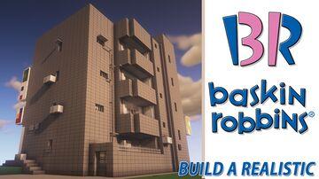 BaskinRobbins Building (3 sets) Minecraft Map & Project