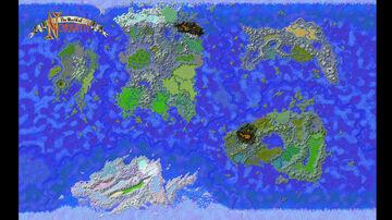 The World of Norrath from Everquest v1.2 Minecraft Map & Project