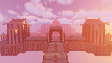 Asian City Lord's Mansion Minecraft Map & Project