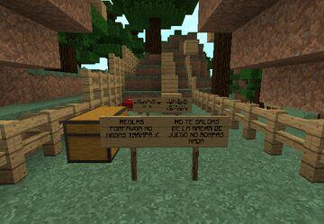 PARKOUR DE MADERA!! / PARKOUR OF WOOD!! Minecraft Map & Project