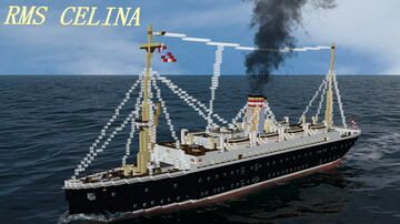 RMS CELINA [FULL INTERIOR] Minecraft Map & Project