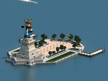 Statue of Creation | Mineopolis and the Countryside Minecraft Map & Project
