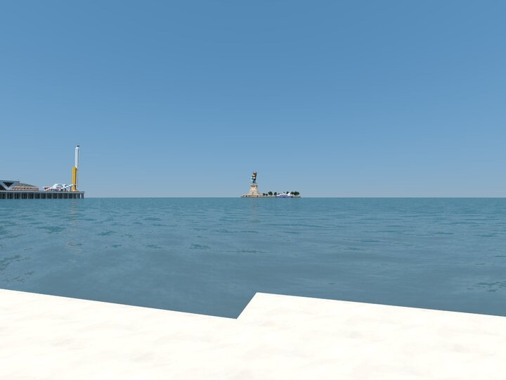View from the Coast of Mineopolis