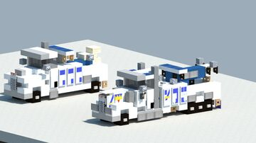 Dreamy's two pack of tow trucks [With Download] Minecraft Map & Project