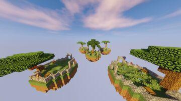 1.16.1 Skywars map (4 Islands) Minecraft Map & Project