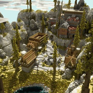 The Hidden Castle Minecraft Map & Project