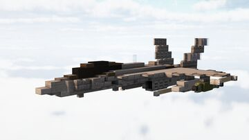 F/A-18C Hornet (1.5:1 scale) Minecraft Map & Project