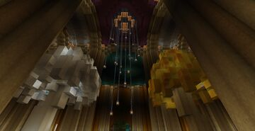 Menegroth Minecraft Map & Project