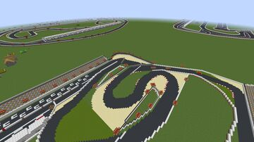 World Of Racing - Tracks Mod-Ready For Racing Minecraft Map & Project