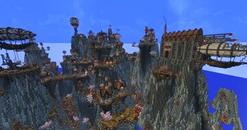 Kenport - The Steampunk City Minecraft Map & Project